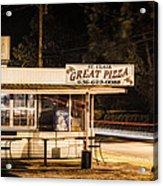 Great Pizza Acrylic Print