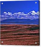 Great Salt Lake And Antelope Island Acrylic Print