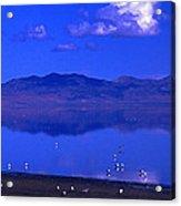 Great Salt Lake From Causeway Acrylic Print