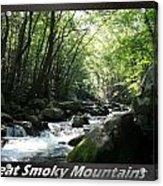 Great Smoky Mountains National Park 10 Acrylic Print