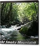 Great Smoky Mountains National Park 12 Acrylic Print