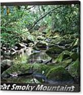 Great Smoky Mountains National Park 5 Acrylic Print