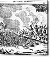 Great Swamp Fight, 1675 Acrylic Print