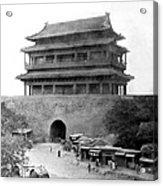 Great Wall Of China - Peking - C 1901 Acrylic Print