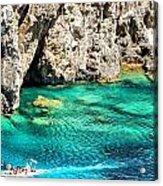 Greece Corfu Island Acrylic Print