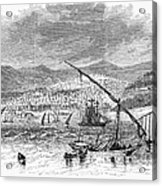 Greece: Salonika, 1876 Acrylic Print by Granger