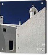 Greek Architecture Mykonos 2 Acrylic Print