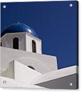Greek Architecture, Santorini, Greece Acrylic Print