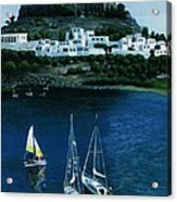 Greek Isles - Rodos Acrylic Print