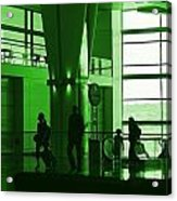 Green Airport Acrylic Print