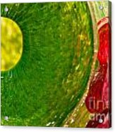 Green And Red Acrylic Print