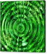 Green As Grass Acrylic Print