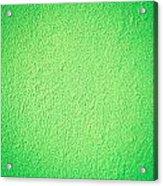 Green Background Acrylic Print