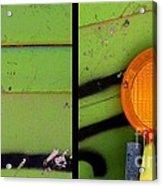 Green Bein' Acrylic Print