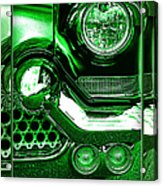 Green Chrome Acrylic Print