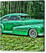 Green Classic Hdr Acrylic Print