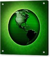 Green Earth Acrylic Print