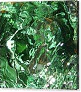Green Eddy I Acrylic Print