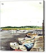 Green Harbor Acrylic Print