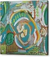 Green Acrylic Print by Jay Manne-Crusoe