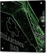 Green Night Acrylic Print