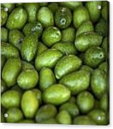 Green Olives Acrylic Print by Joana Kruse
