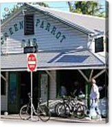 Green Parrot Bar In Key West Acrylic Print