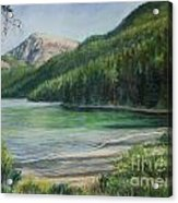 Green River Lake Acrylic Print