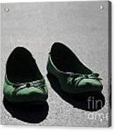 Green Shoes Acrylic Print