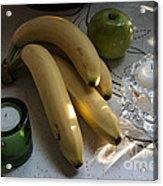 Green Yellow White Light Acrylic Print