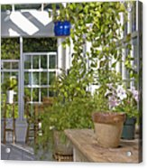 Greenery In A Garden Store Acrylic Print by Andersen Ross