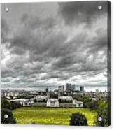 Greenwich And Docklands Hdr Acrylic Print