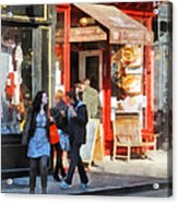 Greenwich Village Bakery Acrylic Print
