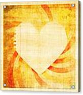greeting card Valentine day Acrylic Print
