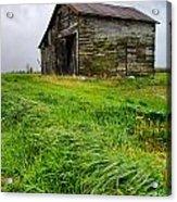 Grey County Barn Acrylic Print