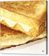 Grilled Cheese Sandwich Acrylic Print