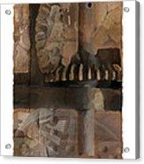Grinder Acrylic Print by Bob Salo