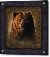 Grizzly Lodge Acrylic Print