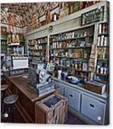 Grocery Store Of Yesteryear - Virginia City Montana Ghost Town Acrylic Print