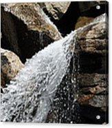 Grotto's Cascade Acrylic Print