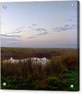 Ground And Sea Fog Acrylic Print