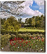 Grounds At Leeds Castle  Acrylic Print