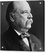 Grover Cleveland - President Of The United States Acrylic Print by International  Images