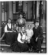 Grover Cleveland And His Family, 1907 Acrylic Print