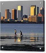 Growing Up Tampa Bay Acrylic Print