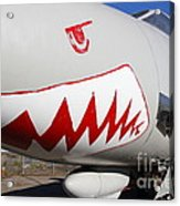 Grumman F-14a Tomcat Fighter Jet Plane . 7d11216 Acrylic Print by Wingsdomain Art and Photography