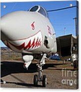 Grumman F-14a Tomcat Fighter Plane . 7d11210 Acrylic Print by Wingsdomain Art and Photography