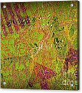 Grunge Background 4 Acrylic Print