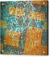 Grunge Background 6 Acrylic Print