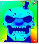 Grunge City Demon 1 Acrylic Print